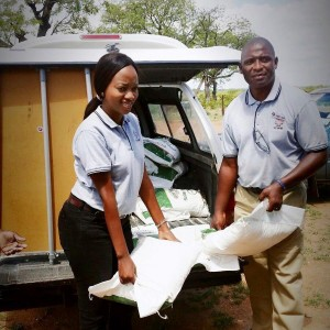 Sizolwethu food distribution