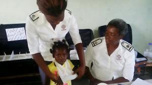 Sizolwethu nurses in action