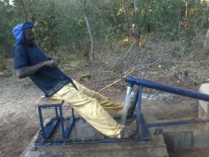 Stage-1-Rower-Pump-Water-flowing
